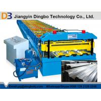 High Efficiency Floor Deck Roll Forming Machine Durable Punching Metal Cr12 Manufactures
