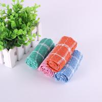 Household 35.5*35.5cm Usage Checker Kitchen Tea Towels With Custom Microfiber Printed Manufactures