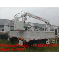 Buy cheap HOT SALE! ISUZU Brand 4*2 LHD 2tons small cargo truck with telescopic crane boom from wholesalers