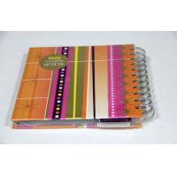 A4 A3 Yo Binding Notebook , Softcover Book Printing With Spiral Binding Manufactures