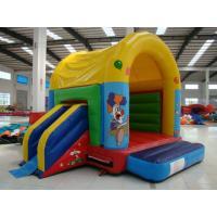 Colorful Inflatable Toy Inflatable Mini Combo Jumper With Inflatabe  Slide Manufactures