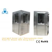 GMP Pharmaceutical Stainless Steel Air Shower Room With Three Side Blowing AC380V Manufactures