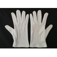 Inspection Protective Cotton Work Gloves Heavy Weight Men's Glove Liner Manufactures