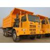 HOWO Tipper 6x4 SINOTRUK Dump Truck / Mining Dump Truck 70 Ton 371HP Manual Transmission Manufactures