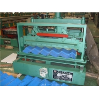 China High Quality Glazed Tile Cold Formed Roof Panel Bending Machine Complet on sale