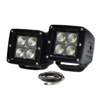 "16w 3"" Pods Vehicle LED Work Lights For 12v To 24v Vehicles Off Road Truck 2 X 2 Manufactures"