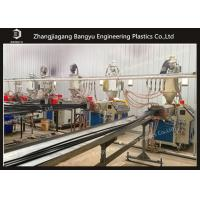China Plastic Bar Extrusion Mini Extruder Machine For Thermal Break Aluminum Profile Making on sale