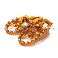 Quality Aluminum Alloy Oversize Dirt Bike Foot pegs Footpegs KTM SX SXF 125 250 350 450 2016 for sale