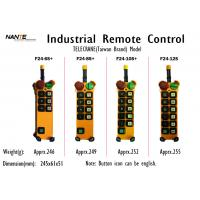 Single / Double Speed Wireless Hoist Remote Control Wireless Industrial Remote Controller F24+ Series Manufactures