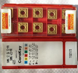 Sandvik Coromant Cutting Tools Cutting Inserts SNMG120412-PR 4025 Manufactures