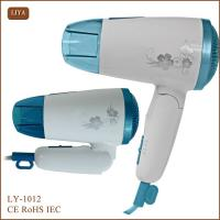 Colorful Colored Cute Hair Blow Dryer for Car with Foldable Handle Manufactures