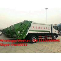 2018s best seller- Euro 5 dongfeng D9 Cummins 180hp 10m3 compacted garbage truck for sale, ompression garbage truck