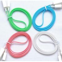Quality USB LED Light Cable Sync Data Charge Charging Cable Cord for iphone 6 samsung J7 for sale