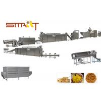Fully Automatic Maize Flakes Making Machine , Breakfast Cereal Production Line Manufactures