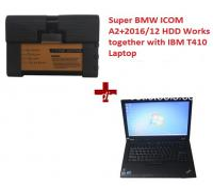 Quality Super BMW ICOM A2 BMW Diagnostic Tools With 2018.7V HDD Plus Lenovo T410 Laptop for sale