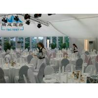 10x18M New Design Marquee Party Tent With ABS Walls / Steel Panel Walls Manufactures