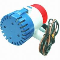 1,100GPH Automatic Boat Bilge Pump, Submersible, 1-1/8 Discharge, 12V, #27s  Manufactures
