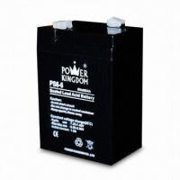 6V Sealed Lead-acid Battery with 6Ah Nominal Capacity, Used for Emergency Lighting System Manufactures