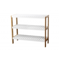Stackable Bamboo Shoe Shelf Manufactures
