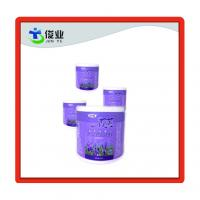China Custom Made Self Adhesive Synthetic Paper Shower Gel wtih Matte Lamination on sale