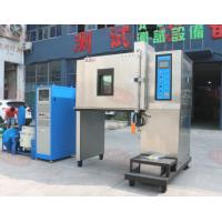 Vibration testing machine combined temperature chamber with vibration shaker table Manufactures