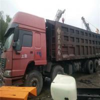 Secondhand Manual Transmission Type and Diesel Fuel Type 12 wheel dump truck capacity 10 ton 12 ton 15 ton Manufactures