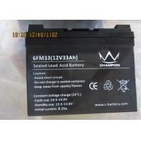 Sealed Long Life Lead Acid Battery 12v 30ah agm and gel type for off grid power Manufactures