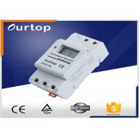 1 Changeover Programmable Digital Timer Switch 3 Years Lithium Battery Manufactures