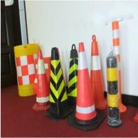 Durable Protable Traffic Safety Barriers Injection Plastic Road Block Manufactures