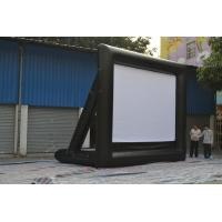 Custom airblown inflatable outdoor movie screen 0.55mm PVC Tarpaulin Manufactures