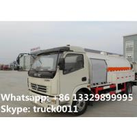 Quality 5500L capacity 2.3 ton 4*2 DONGFENG right hand drive mini lpg dispensing truck for sale