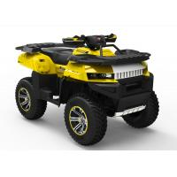Yellow CVT 700cc Utility ATV Automatic Transmission For Forest Road Manufactures