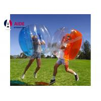 1M Pvc Inflatable Sports Equipment Blow Up Human Hamster Ball For Outdoors Sports Manufactures