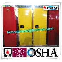 Fireproof Industrial Safety Cabinets , Chemical Storage Cupboards For Flammables Manufactures