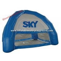 Small Blue Four Season Inflatable Dome Tent For Outdoor Promotion / Exhibition Manufactures