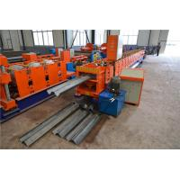 Two Waves Highway Guardrail Roll Forming Machine , Steel Roll Forming Machine  Manufactures