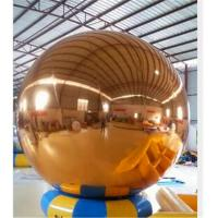 2.0m Colourful Inflatable Mirror Ball / Party Decoration Inflatable Ball Manufactures
