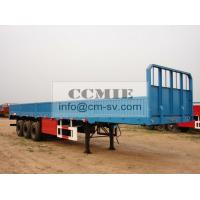 Quality DONG FENG BARRIER VAN TRUCK Semi - Trailer 73847328472 Max Payload 45 - 100 Tons for sale