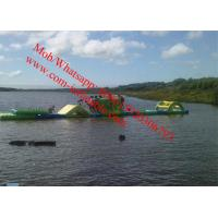 Inflatable Obstacle Course , Inflatable Water Obstacle inflatable floating obstacle Manufactures