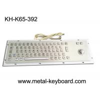 China Metal Panel Mount Industrial Computer Keyboard Laser Trackball Mouse Type on sale