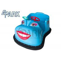 Attractive Blue / Green Electric  Kids Bumper Car Amusement Ride Manufactures