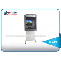"17"" Outdoor Advanced Internet ATM Kiosk With Cash Dispenser Free Standing Manufactures"