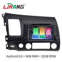 4GB RAM Android 8.0 Honda Car DVD Player Multimedia With Wifi Radio Stereo Manufactures