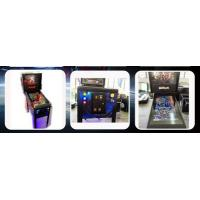 Quality PINVBALL System Mini Arcade Pinball Machine Double Coin Slots 174CM height for sale