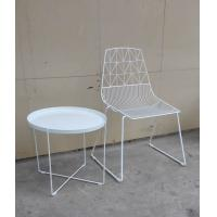 Modern Metal Wire Wedding Dining Chairs Steel Bertoia Dining Chair