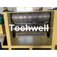 HDF Panel Embossing Machine For Decorative Wall Panel  With 0.4 - 1.0mm Pattern Depth Manufactures