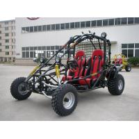 Red 250CC Racing Go Kart Buggy For Adult , 2 Seats Shaft Drive Dune Buggy Manufactures