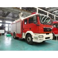 Quality Multi Functional Motorized Fire Truck Road Max Speed 90KM/H Wheelbase 5100mm for sale