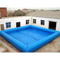Square Home Inflatable Family Pool For Park , PVC Swimming Pools Manufactures