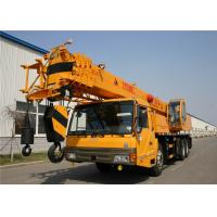 25T FAW Truck Mounted Hydraulic Crane , 70km/H Max Traveling Speed Manufactures